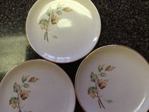 "Set of 3 French Saxon ""Breeze"" Salad Plates in Morris, Illinois"