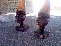 Hand Carved Hatian Statues in Alamogordo, New Mexico