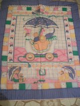 #8012 BABY CRIB QUILT GIRL. 40 X 33 - in Fort Hood, Texas