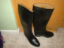 Toggi Black Long Riding Boots, Sz 5 in Fairfield, California